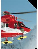 Détecteur de surcharge sur treuil d'hélicoptère