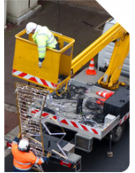 Overload protection for cherry picker