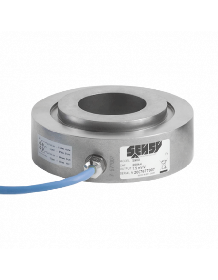 5900 trough hole annular load cell 0