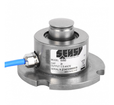 5950 - LOW-PROFILE COMPRESSION LOAD CELLS