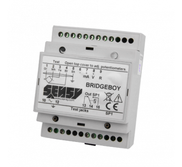 BRIDGE-BOY - EOT CRANE OVERLOAD PROTECTION ELECTRONICS WITH 1 OR 3 SET-POINTS