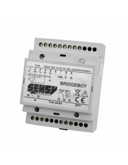 bridge boy load limitation electronics with 1 or 3 set points 1 0