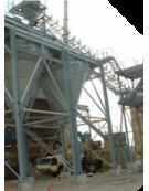 Pesage de silos, cuves, trémies