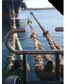 Monitoring sur système d'amarrage / mesure de force sur croc d'amarrage à décrochage rapide