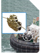 Tugboat towing cable monitoring