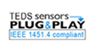 TEDS sensors plug and play logo