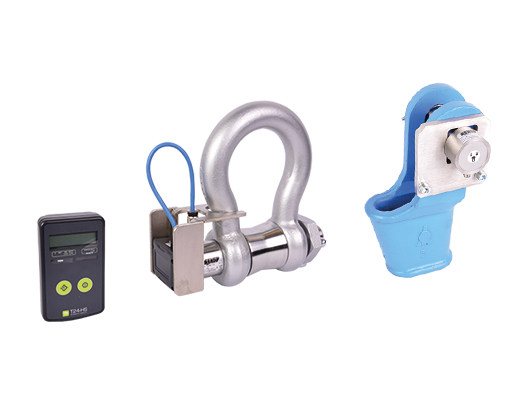 Wireless load shackles wireless wedge sockets