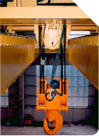 Crane load limiter for heavy